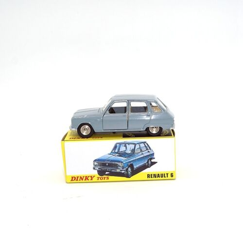 1//43 DINKY TOYS 1453 RENAULT 6 CAR MODEL die-cast  ALLOY ATLAS COLLECTION NEW