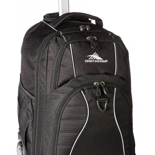 Backpack Rolling Wheeled Book Bag School Laptop Travel Freewheel luggage New