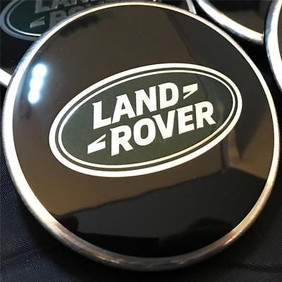 X1 GENUINE LAND RANGE ROVER SPORT VOGUE BLACK ALLOY WHEEL CENTRE CAP DISCOVERY 62mm