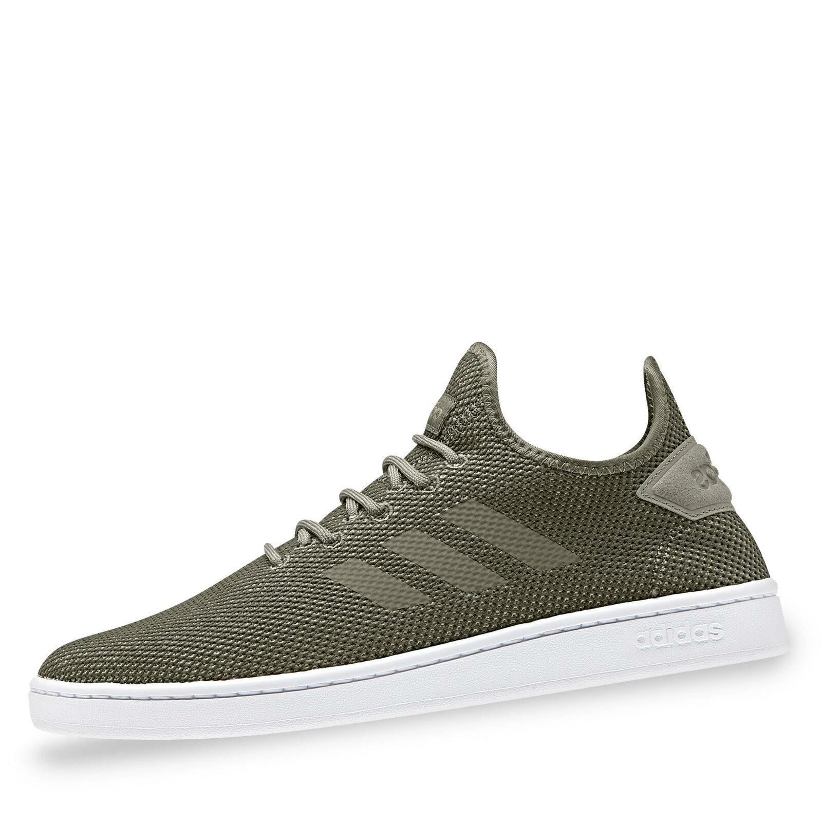 Adidas Court Adapt Herren Turnschuhe Turnschuhe Sportschuhe Laufschuhe Schuhe khaki