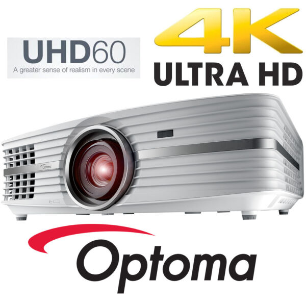 Adaptable Optoma Uhd60 4k Hd Dlp Home Theater Projector 3000 Lumen Cyber Monday Special