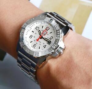 Dettagli su Luminox XS.3258 Navy Seal Acciaio 3250 Series 45mm Acciaio Inox Men's Watch mostra il titolo originale