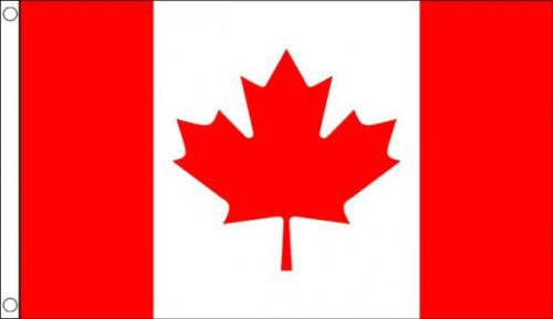 CANADA FLAG 5/' x 3/' Canadian Red Maple Leaf North America American