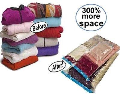 5 set Large / X-Lg Vacuum Seal Space Saver Storage Bags