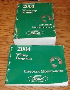 2004    Ford       Explorer    Mercury    Mountaineer    Shop    Service    Manual