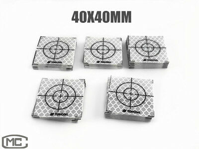 100PCS SOKKIA REFLECTOR SHEET 40X40MM REFLECTIVE TARGET FOR TOTAL STATION