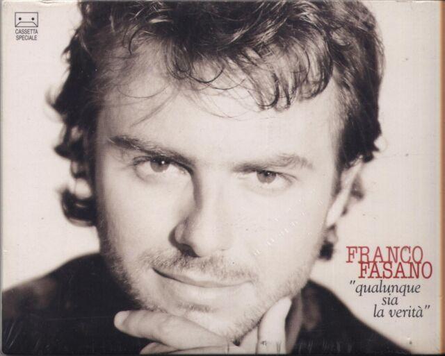 FRANCO FASANO - Qualunque sia la verità - MC MUSICASSETTA 1994 SIGILLATA SEALED
