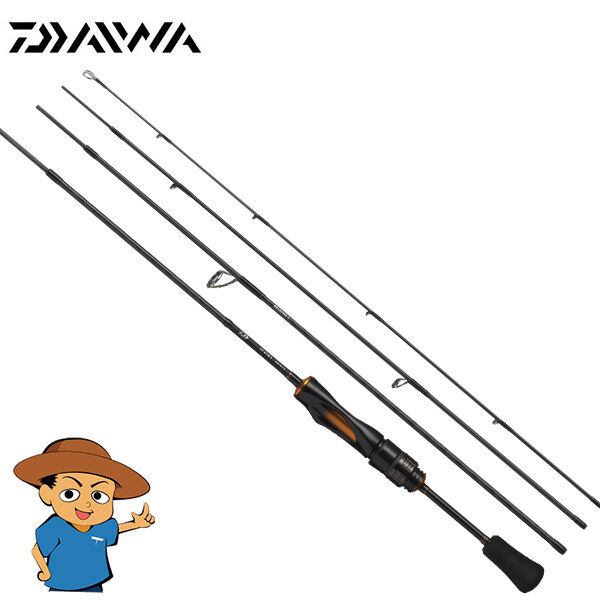 Daiwa iprimi 60XUL-4 extra Ultra Ligero 6' Trucha Pesca Giratoria Caña Poste