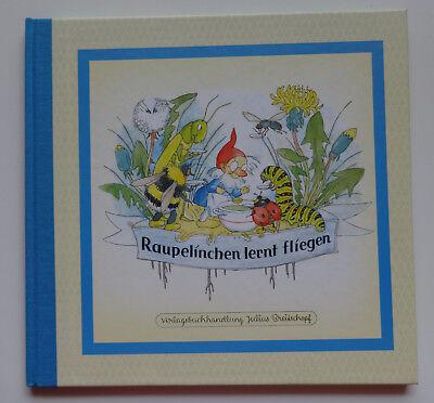 Raupelinchen lernt fliegen Nostalgie Bilderbuch Kinder Reime Verse Ida Bohatta