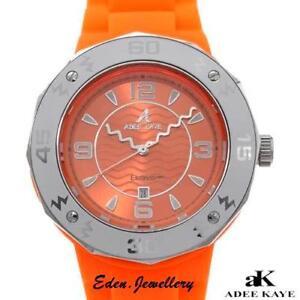 Show-Stopper-ADEE-KAYE-Watch-Big-Boyfriend-Dial-Date-Calendar-Model-AK-5567-L-OR