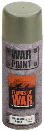 Grenadier Green Spray - Battlefront Miniatures