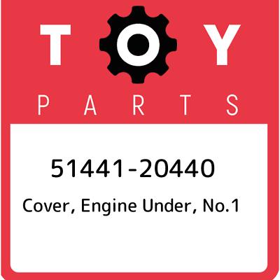 NO.1 51441-14140 5144114140 Genuine Toyota COVER ENGINE UNDER