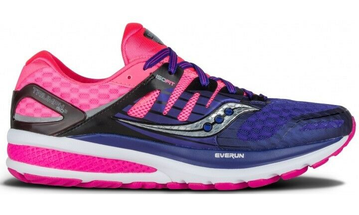 Saucony Triumph ISO 2 Womens Neutral Running shoes, UK Size 10
