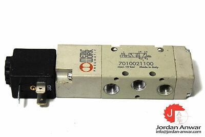 """7010021100 Metal Work SOV 25 SOS OO Solenoid Valve 1//8/"""""""