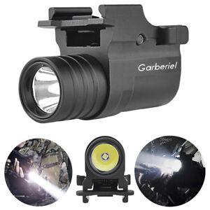 Garberiel-G10-5000Lumens-Tactical-Gun-LED-Light-CR2-Pistol-Flashlight-Rail-Mount