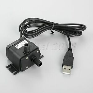 1PC-DC-12V-Pump-Brushless-Submersible-Pond-Tank-Water-Pump-Wire-w-USB-Interface
