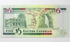 St-Kitts-Eastern-Caribbean-Five-Dollars-1994-UNC-P31k-British-Admin-5