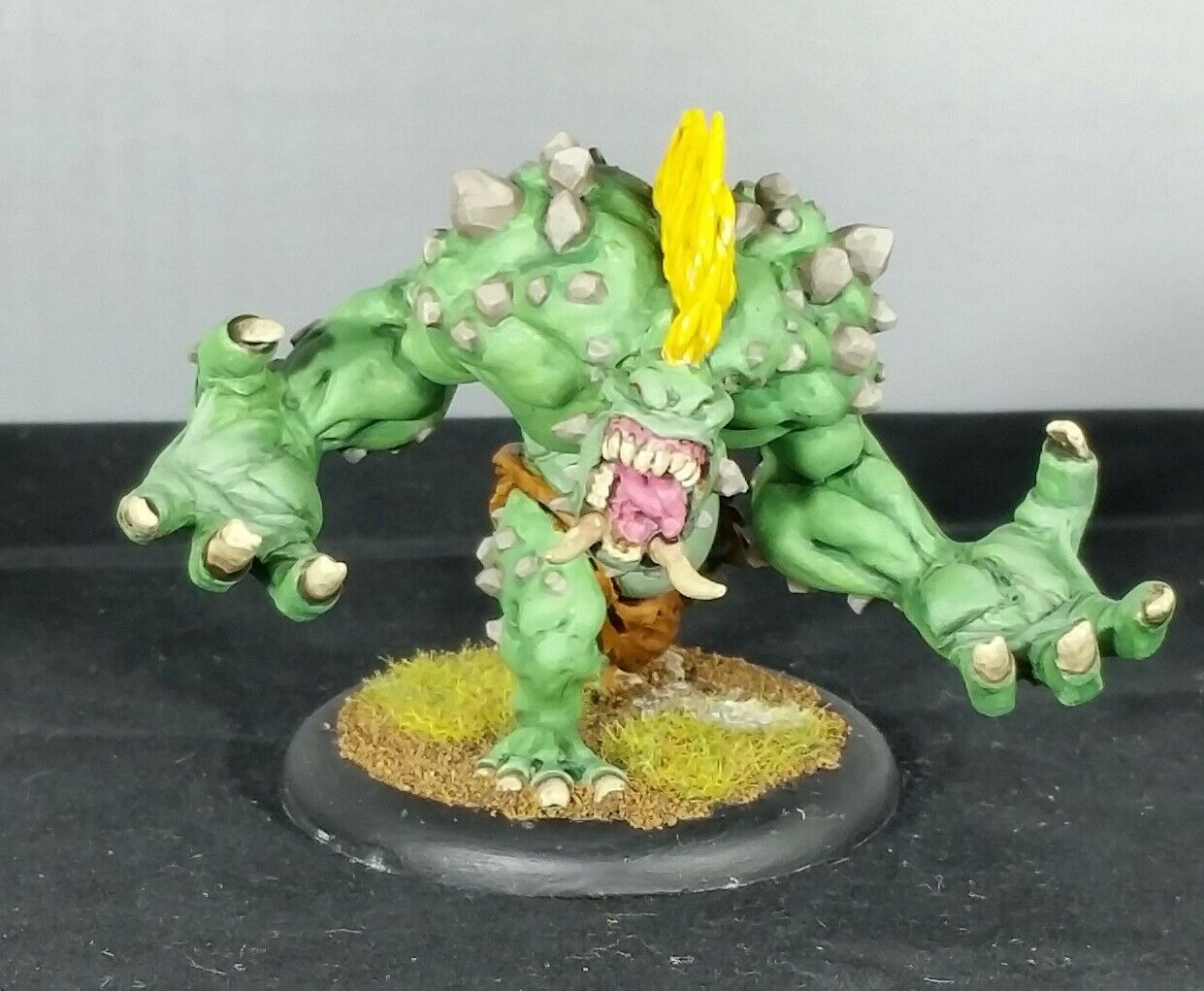 Privateer Press-Hordas-Trollblood Mauler Pesado Warbeast-Pintado-unidad 2