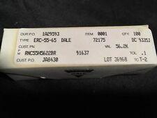 TYPE ERC-55-100 count box DALE RESISTORS