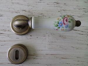 Maniglia coppia porte interne porcellana ebay