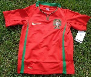 PORTUGAL-ENFANTS-MAILLOT-Jersey-Nike-pour-116-128