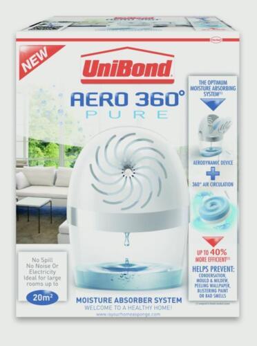 Unibond Dehumidifier 6 Tablets Aero 360 Moisture Absorber Humidity