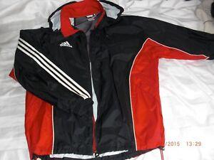 black//white M35323 Neu mit Etikett Adidas Herren Regenjacke Core