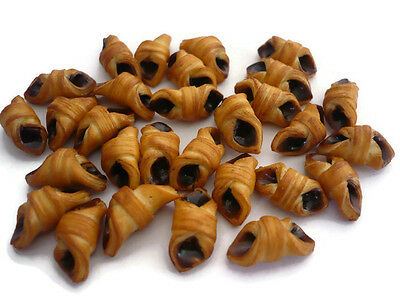 20 Loose Chocolate Danish Bakery Pastry Dollhouse Miniatures Food