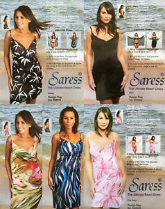 ceeae11469 Saress The Ultimate Beach Dress 5 designs uk 8 10 14 16 Beach cover ...