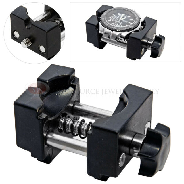 Watch Case Vise Jewelers Watchmakers Aluminum Tool Battery Movement Repair