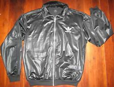 """Adidas Men's XL Track Jacket """"Chile 62"""" Shiny Black A Must Have! Buy it Now"""