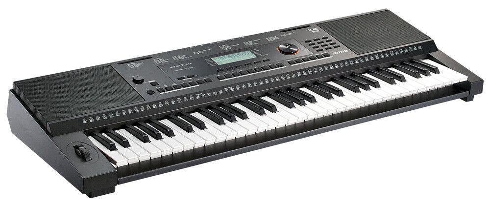 KURZWEIL KP110 Portable Portable Portable Arranger Keyboard 1fe6ae