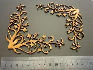 Mdf Chipboard Laser Cut Scrapbook Decorative Shape Embellishment Art