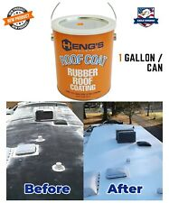 Rubber Roof Coating Rv Trailer Waterproof Sealant Uv Protection White Reflective