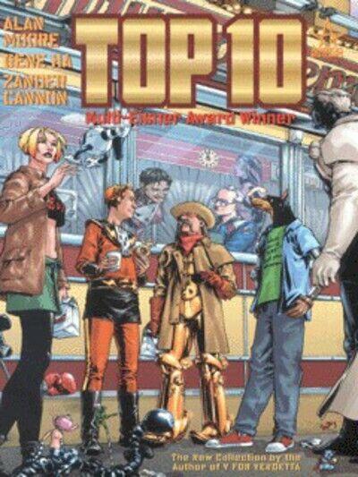 Top ten. Book 1 by Alan Moore Gene Ha Zander Cannon Todd Klein Wildstorm FX