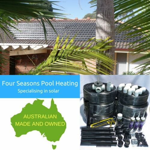 23M2 MANUAL DIY POOLSPA 12 TUBE SOLAR HEATING KIT & 3 WAY VALVE USES POOL PUMP