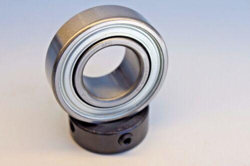 "2x Premium CSA201-8 Insert Bearing 1//2/"" Bore  w// Locking Collar /& Cylindrical OD"