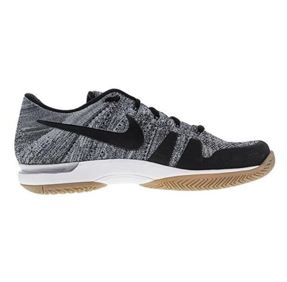 Nike Zoom Vapor Fly Knit Mens Tennis Shoe Dark GreyBlack