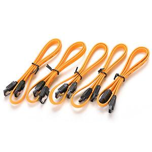 40cm-Serial-ATA-SATA-3-RAID-Data-HDD-Hard-Drive-Disk-Signal-Cables-Yellow-GSHGD