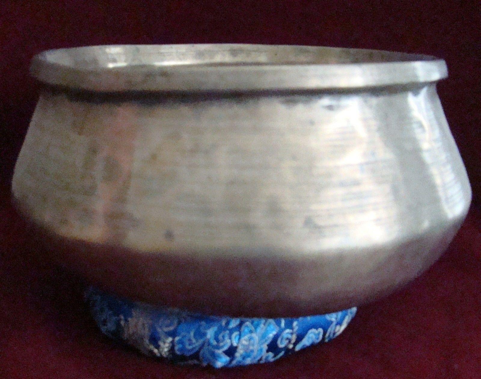 Alte Seltene Hundi klangschale( Singing Bowl Old and Rare Hundi Bowl)