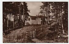 GLENSHERRO LODGE: Inverness-shire postcard (C6372).