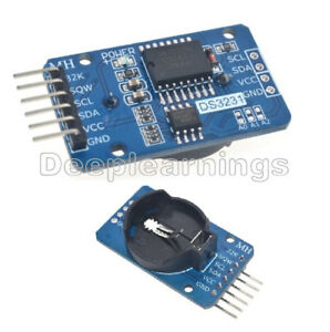 ZS042 DS3231 AT24C32 IIC Module Precision RTC Real time Clock Memory For Arduino