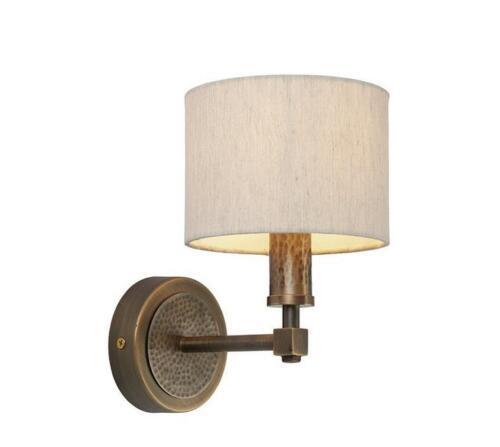 Milo 71346 INDARA 1 lumière bougie Appliques Bronze//blanc 23 cm H x 15 cm L x 21 cm D