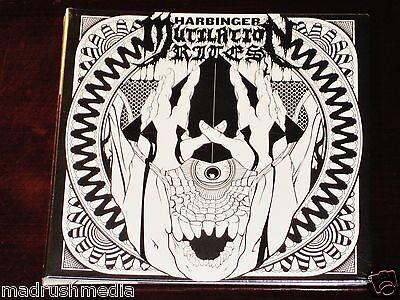 Mutilation Rites: Harbinger CD 2014 Prosthetic PROS10192-2 Gatefold Slipcase NEW