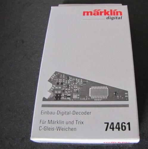 10 x Märklin 74461 C-Gleis Weichendecoder D frei Haus 24,99€//Stk neu in OVP