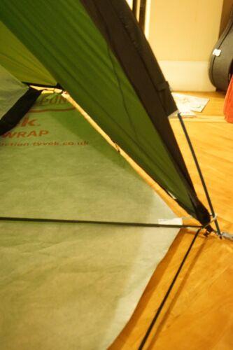 avec Arcades 290 g TYVEK Portefeuille empreinte pour Terra Nova SOUTHERN CROSS 2 Tente