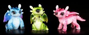 Kleine-Dragones-FIGURAS-COLORIDA-Fantasia-BONITOS-drachenbabys