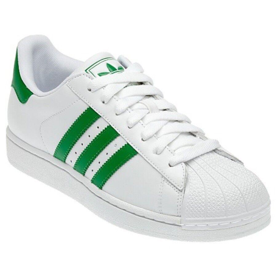 ADIDAS ORIGINALS superstar 2 II W grande calcetines cortos zapatos talla grande W Weiss 55 2/3 35bfe9