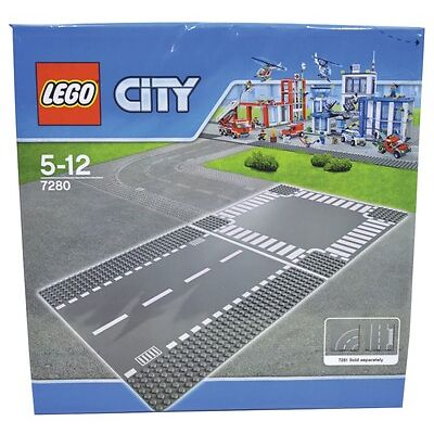 NEW LEGO Straight & Crossroad Road Plates 7280 from Mr Toys Toyworld