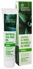 Desert Essence - Toothpaste Natural Tea Tree Oil With Baking Soda Fennel - 6.25